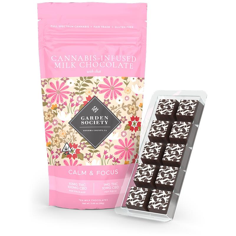 Milk Chocolate with Chai