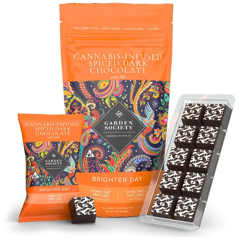 Spiced Dark Chocolate Marijuana