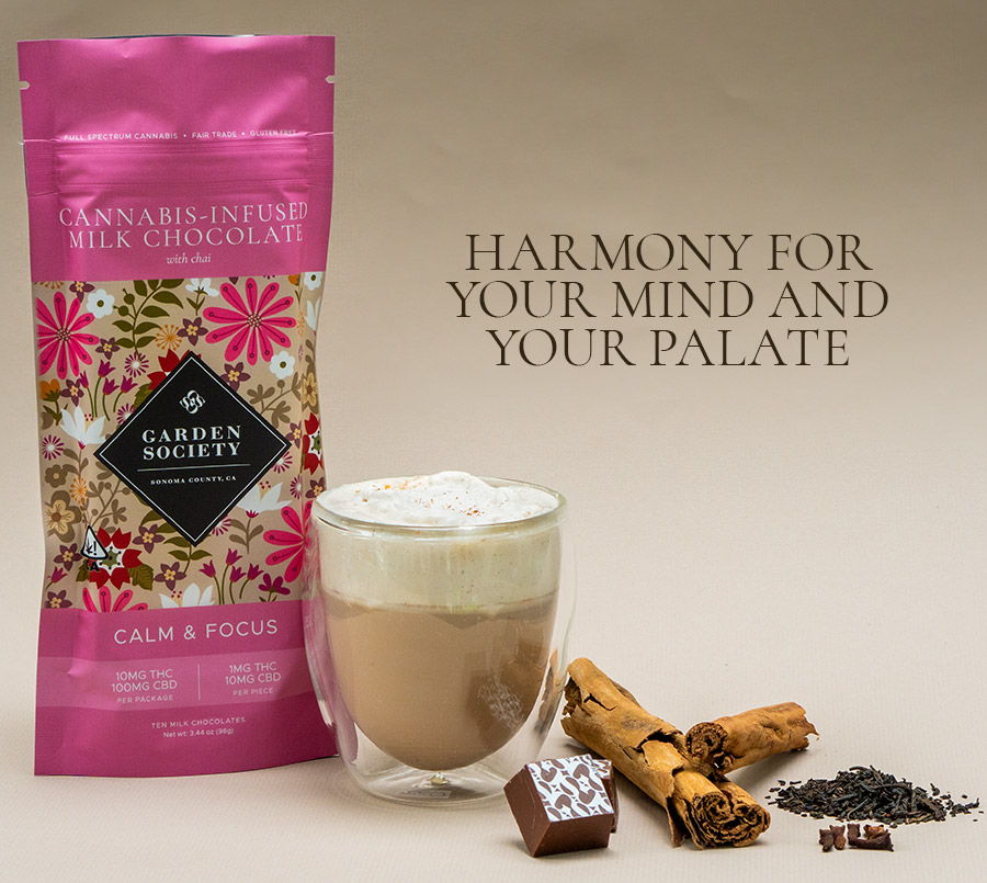 Introducing Our New High CBD Chai Chocolate for Calm and Focus